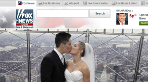 Fox News Airs Same-sex couple photo