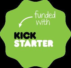 kickstarter badge