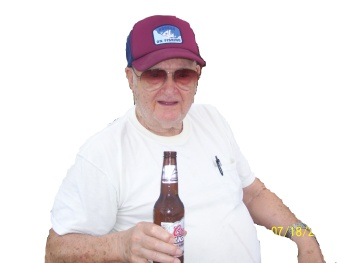 Grandpa w:beer alone 2
