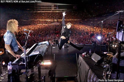 Photo Credit to David Bergman. Purchase prints at www.BonJovi.com/Prints